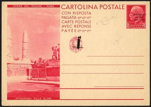 R.S.I. - Cartoline Postali -
