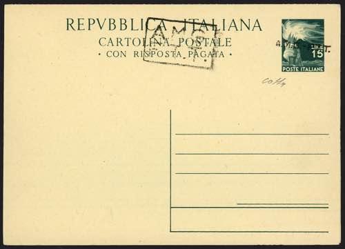 Trieste A - Cartoline Postali - ...